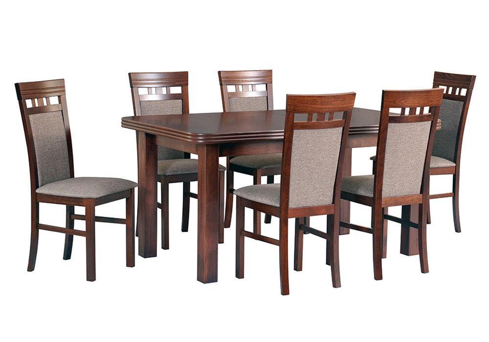 Zestaw stołowy Stół WENUS V, krzesła MILANO 1