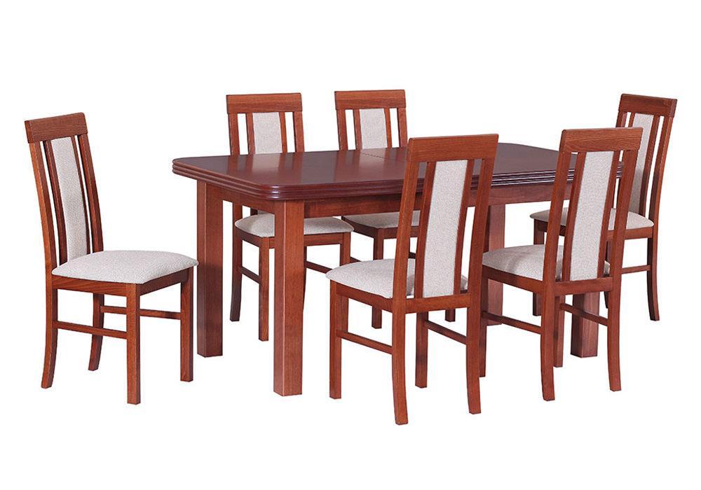 Zestaw stołowy Stół WENUS V, krzesła NILO II 1