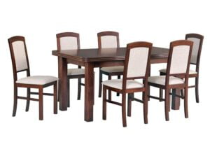 Zestaw stołowy Stoł WENUS V, krzesła NILO IV