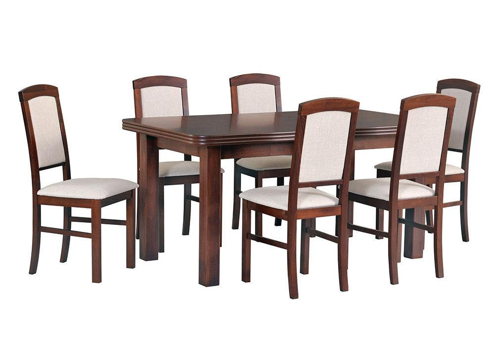 Zestaw stołowy Stoł WENUS V, krzesła NILO IV 1