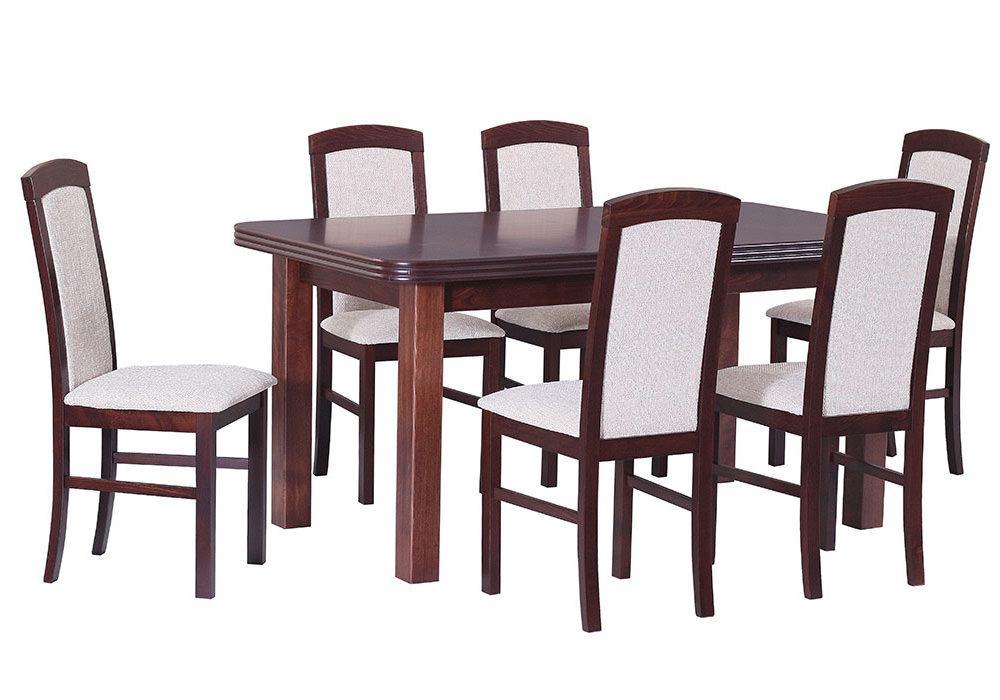 Zestaw stołowy Stół WENUS V, krzesła NILO V 1