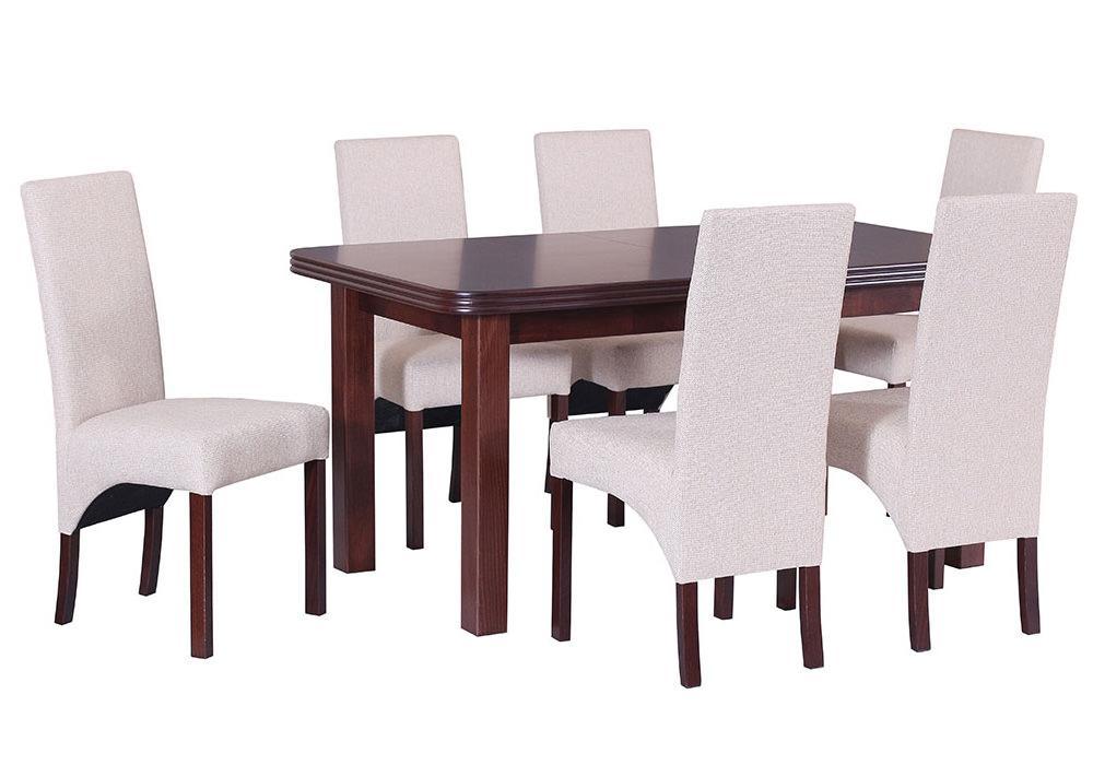 Zestaw stołowy Stół WENUS V krzesło ROMA III 1